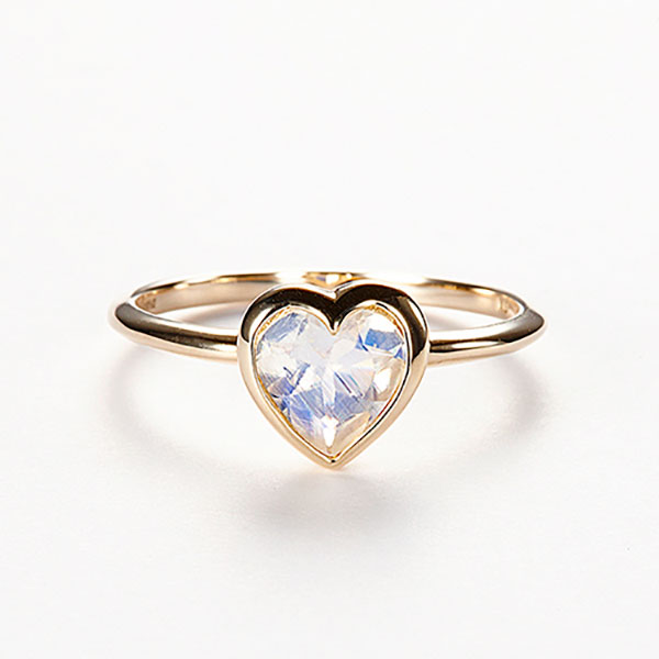 Moon love ring