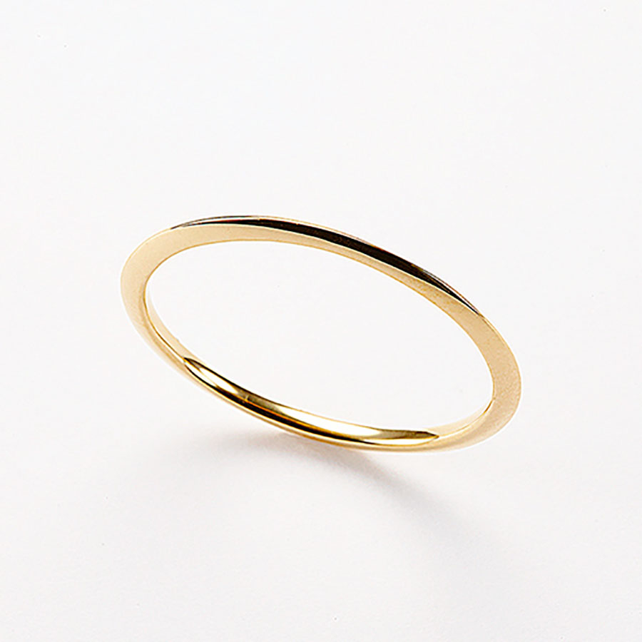 Crescent moon ring 詳細画像 Gold 1