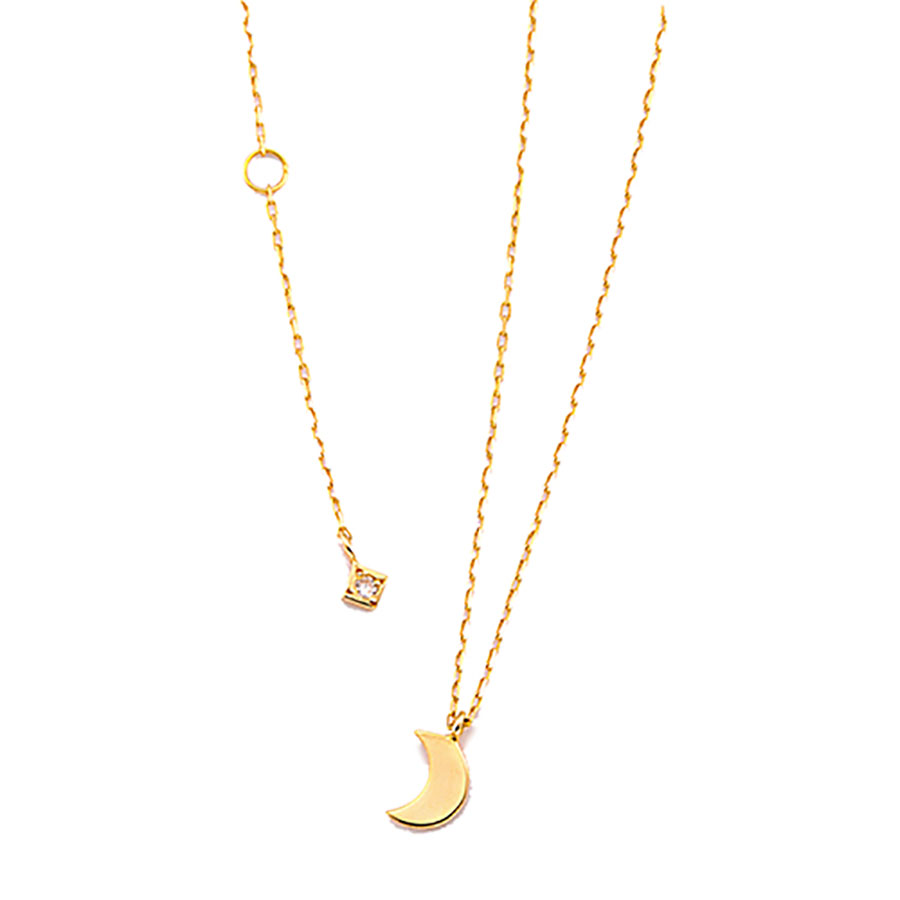 Luna necklace 詳細画像 Gold 1