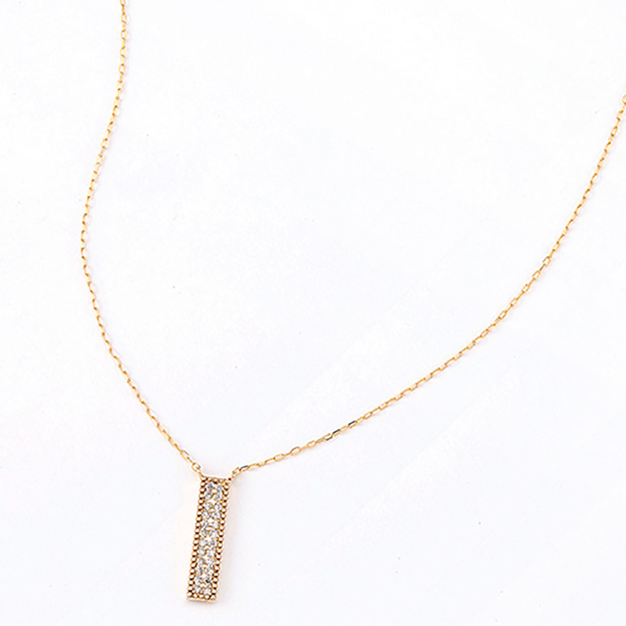 Future Dia necklace 詳細画像 Gold 1