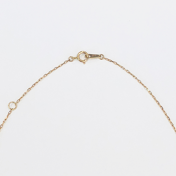 "SHIZUKU necklace""three stone"" 詳細画像"
