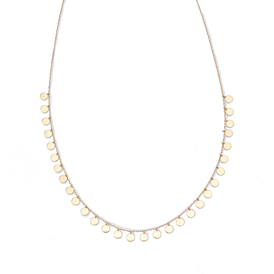 Flat necklace 詳細画像 Gold 1