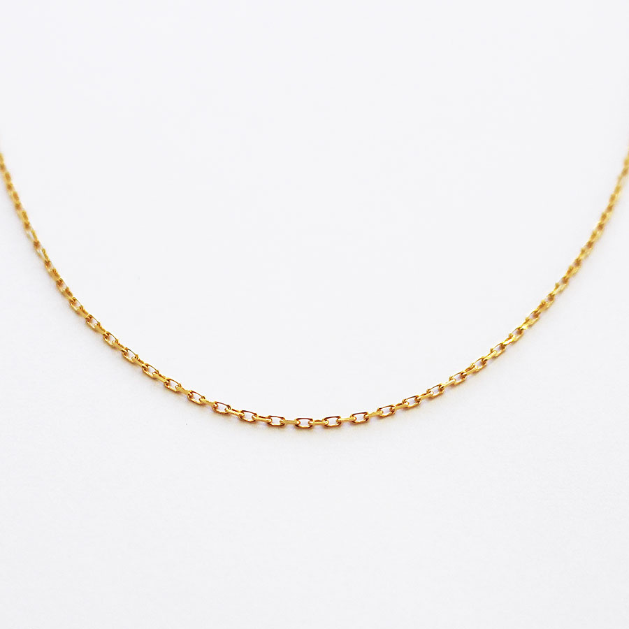 "Chain necklace""K18"" 詳細画像 Gold 1"
