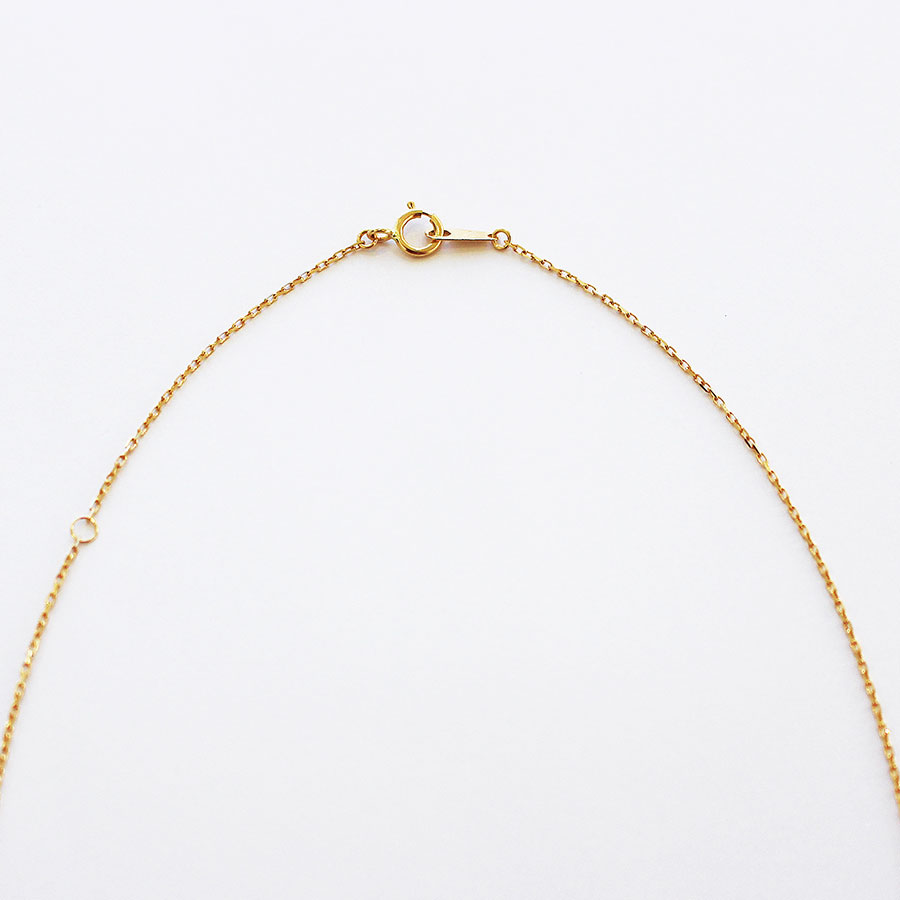"Chain necklace""K18"" 詳細画像 Gold 2"