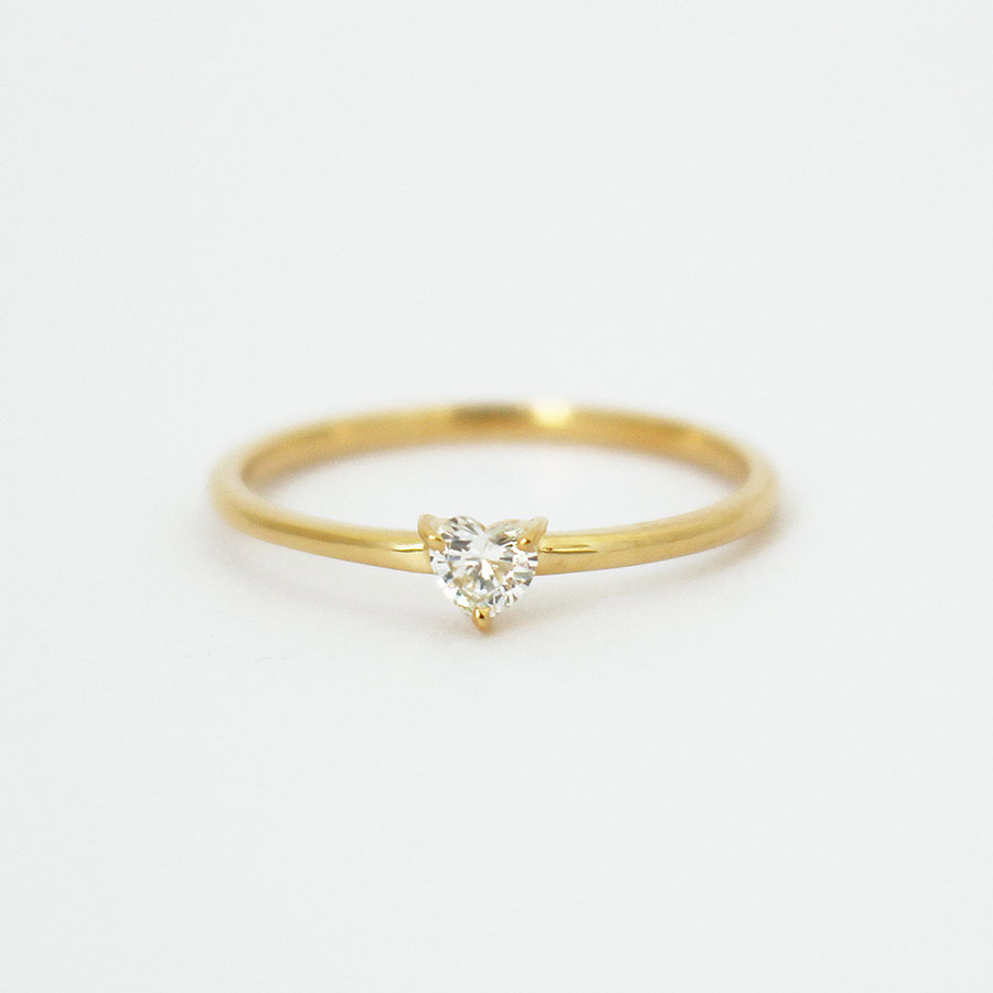"Shape of you ring""Heart"" 詳細画像 Gold 1"