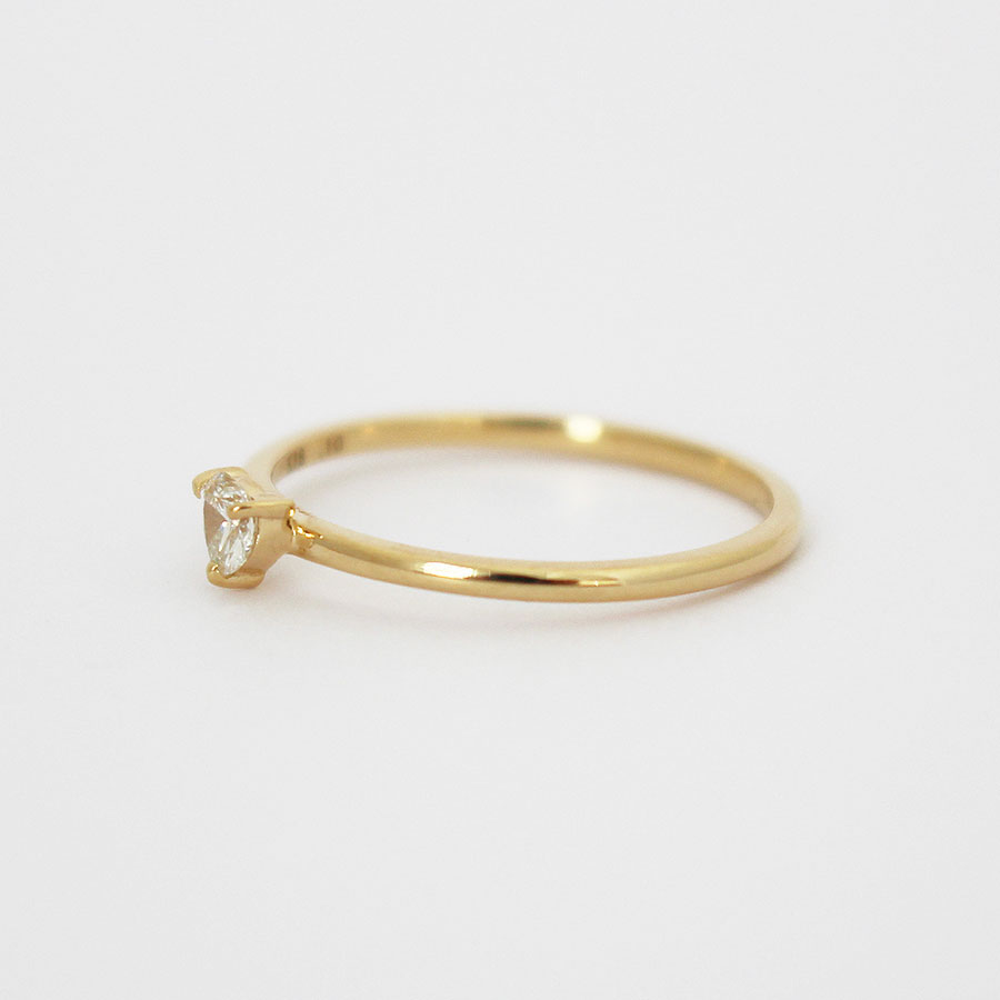 "Shape of you ring""Heart"" 詳細画像 Gold 2"