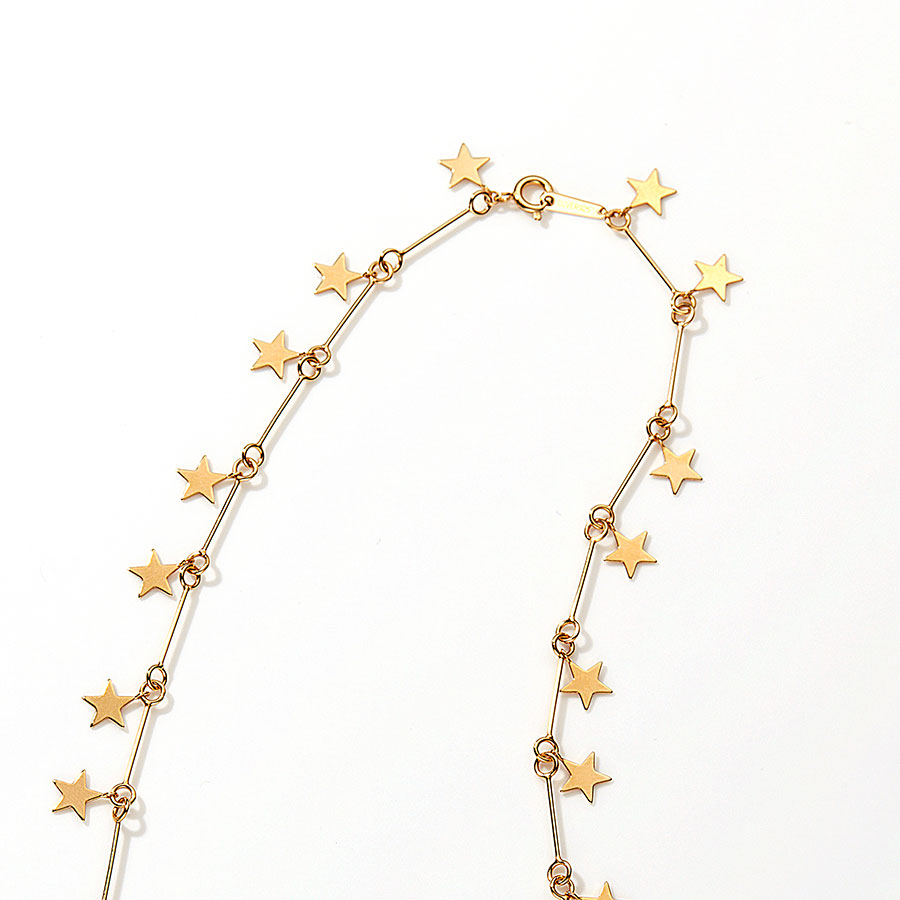 Milky way necklace 詳細画像 Gold 2