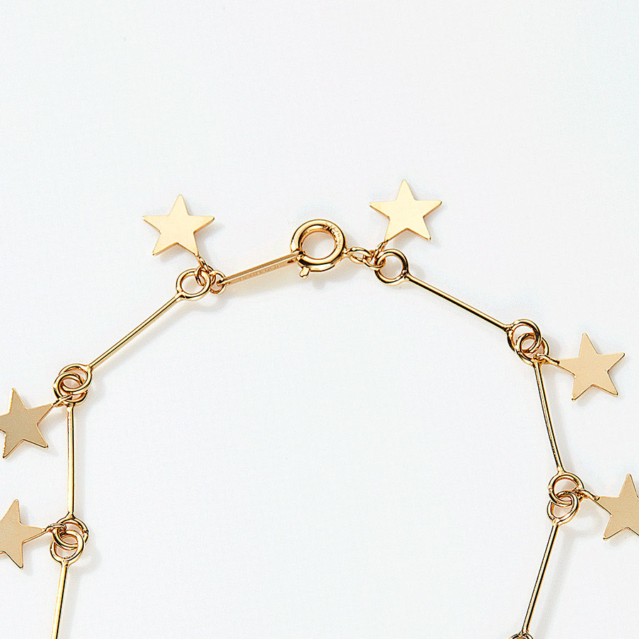 Milky way bracelet 詳細画像 Gold 2