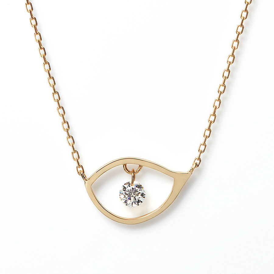 Eyeline necklace 詳細画像 Gold 1