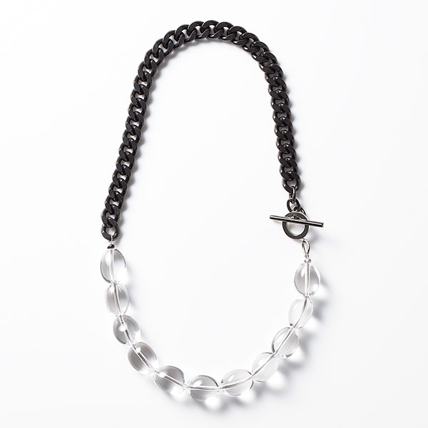 Quartz chain necklace