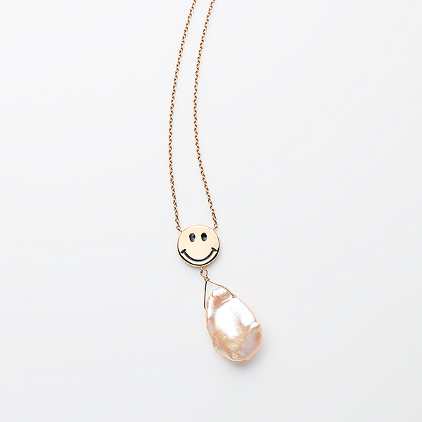 Elegant smile necklace