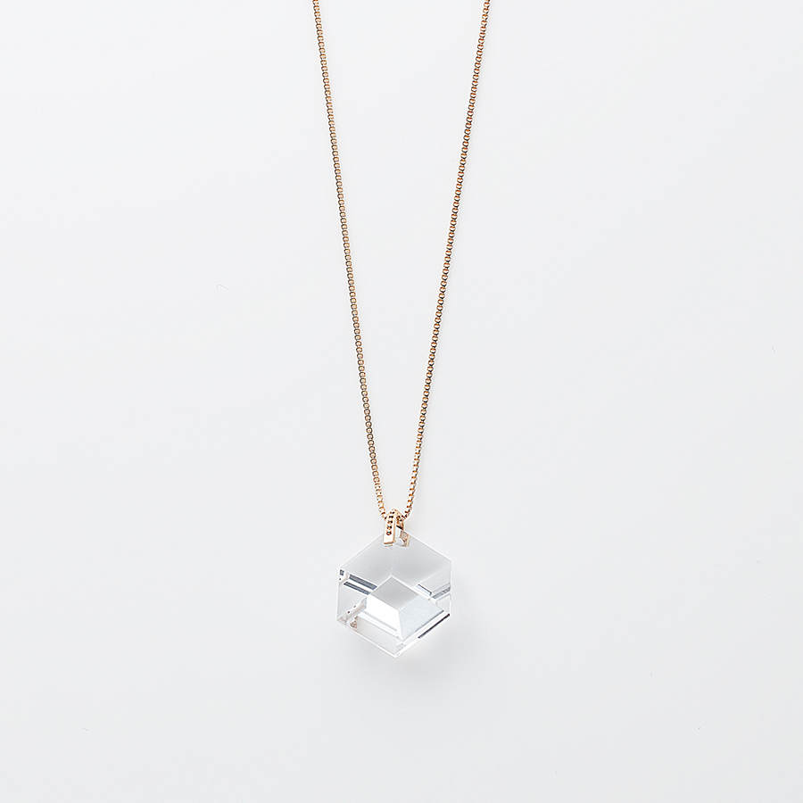Too sweet necklace(quartz) 詳細画像 Clear 1