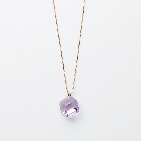 Too sweet necklace(amethyst)
