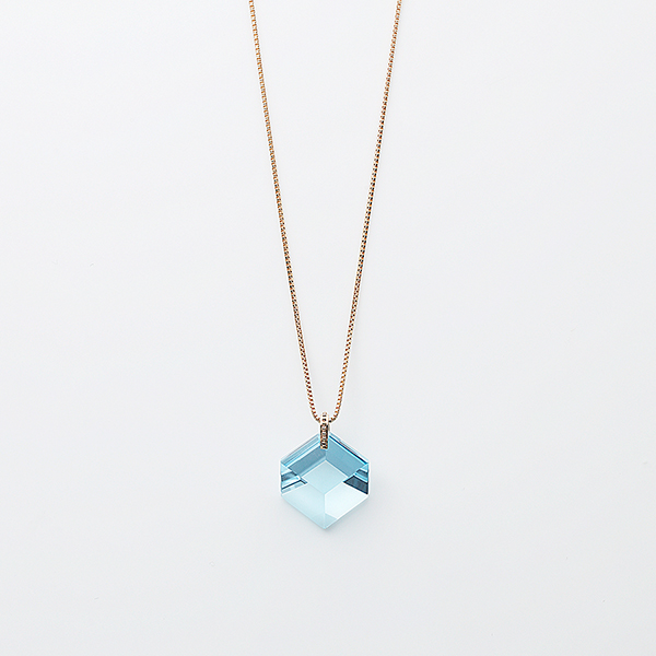 Too sweet necklace(blue topaz)