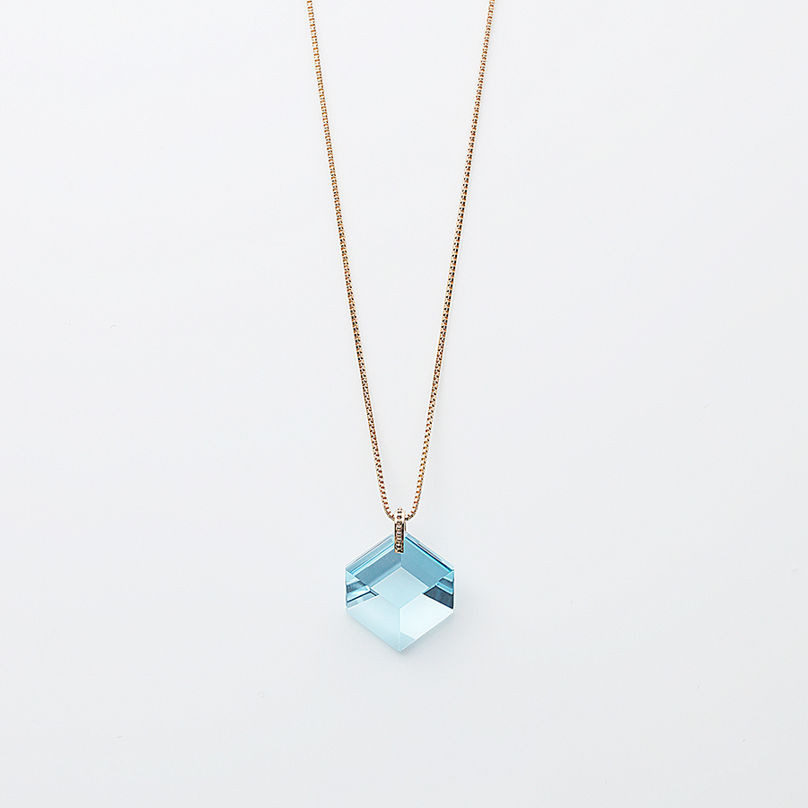 Too sweet necklace(blue topaz) 詳細画像 Blue 1