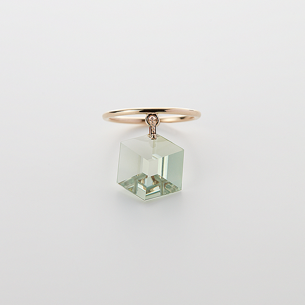 Too sweet ring(green amethyst)