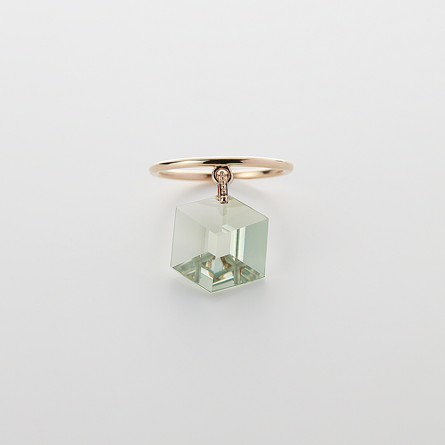 Too sweet ring(green amethyst) 詳細画像 L.Green 1