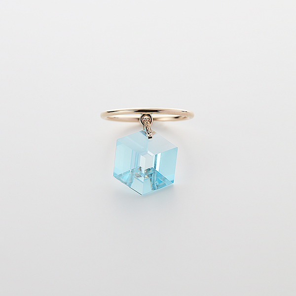 Too sweet ring(blue topaz)