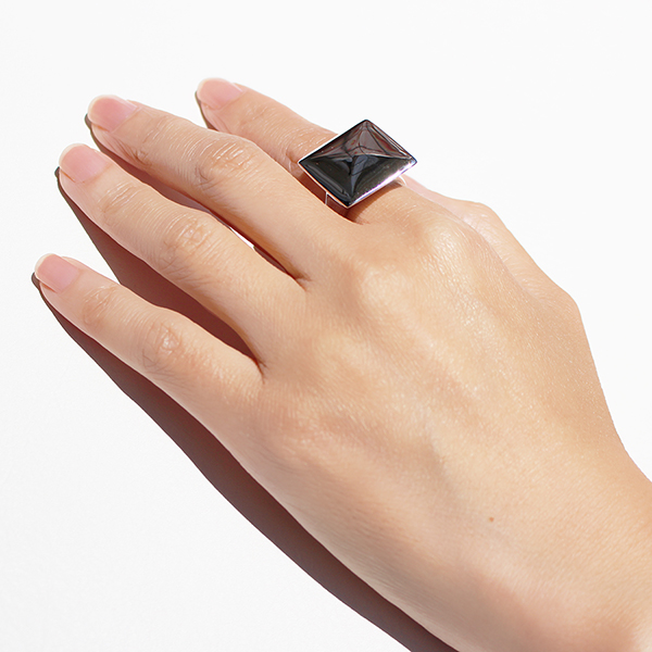 Cushion ring(square) 詳細画像