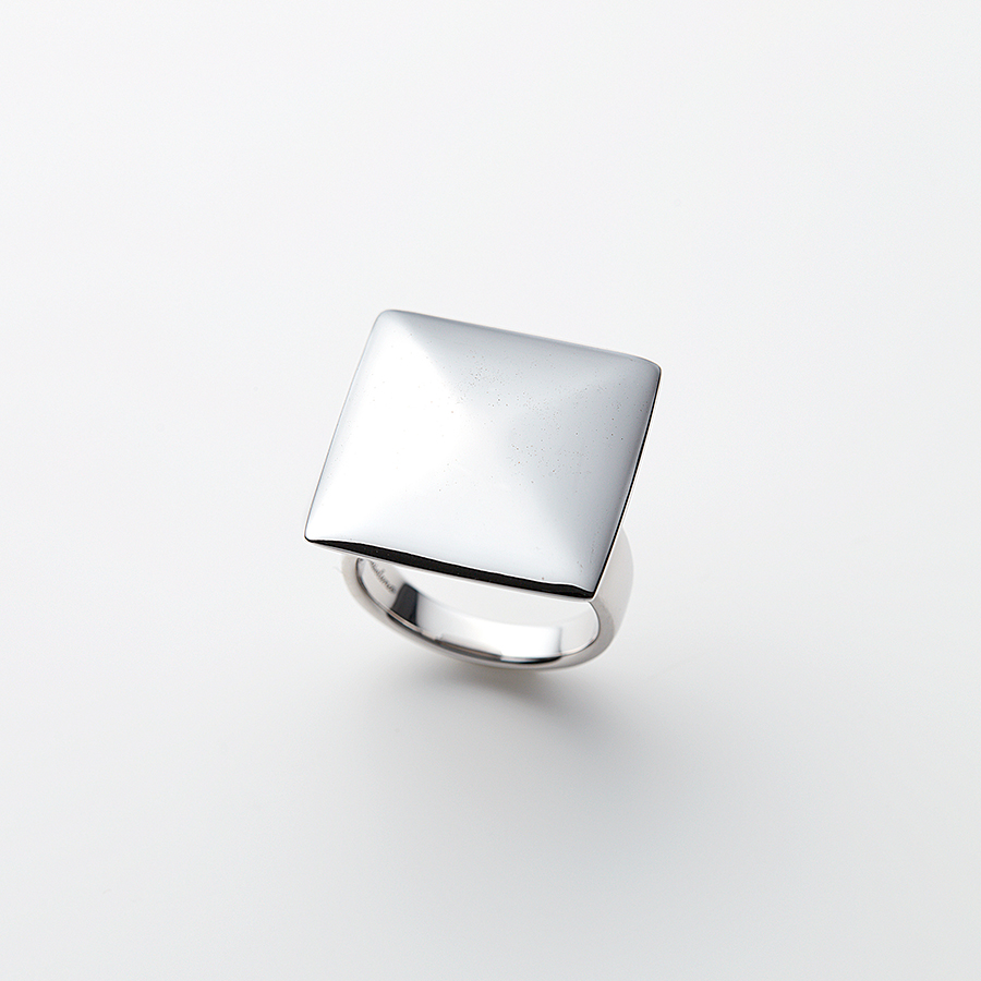 Cushion ring(square) 詳細画像 Silver 1