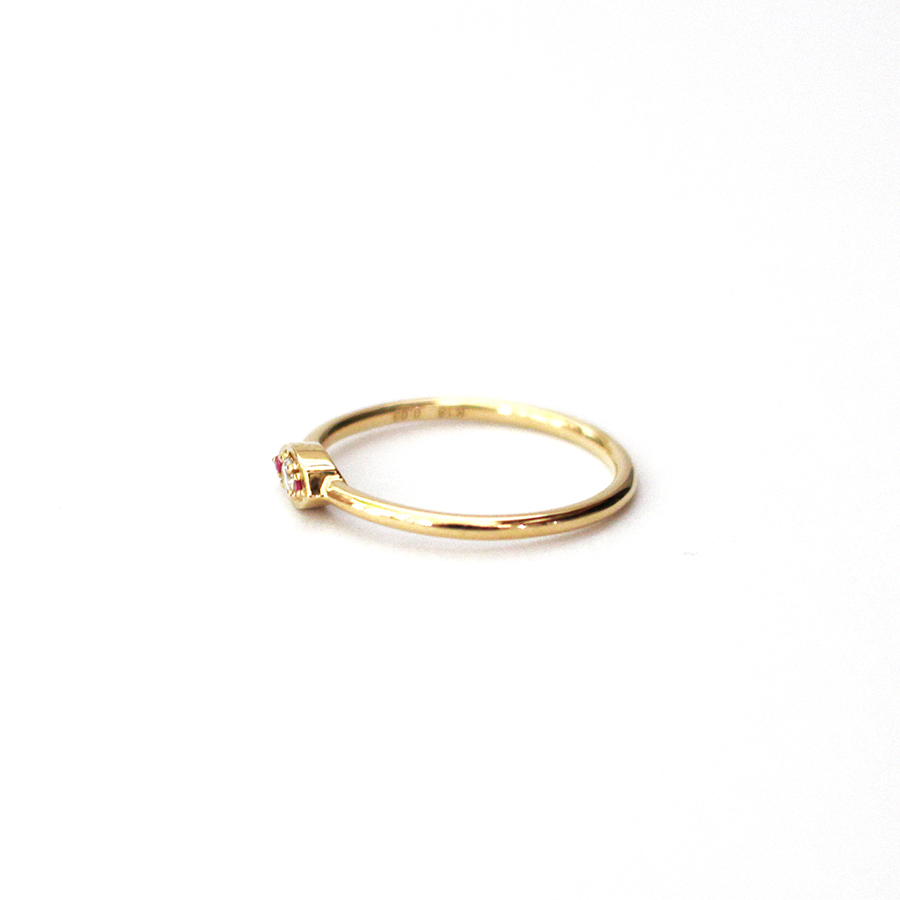 Eye love ring 詳細画像 Gold 1