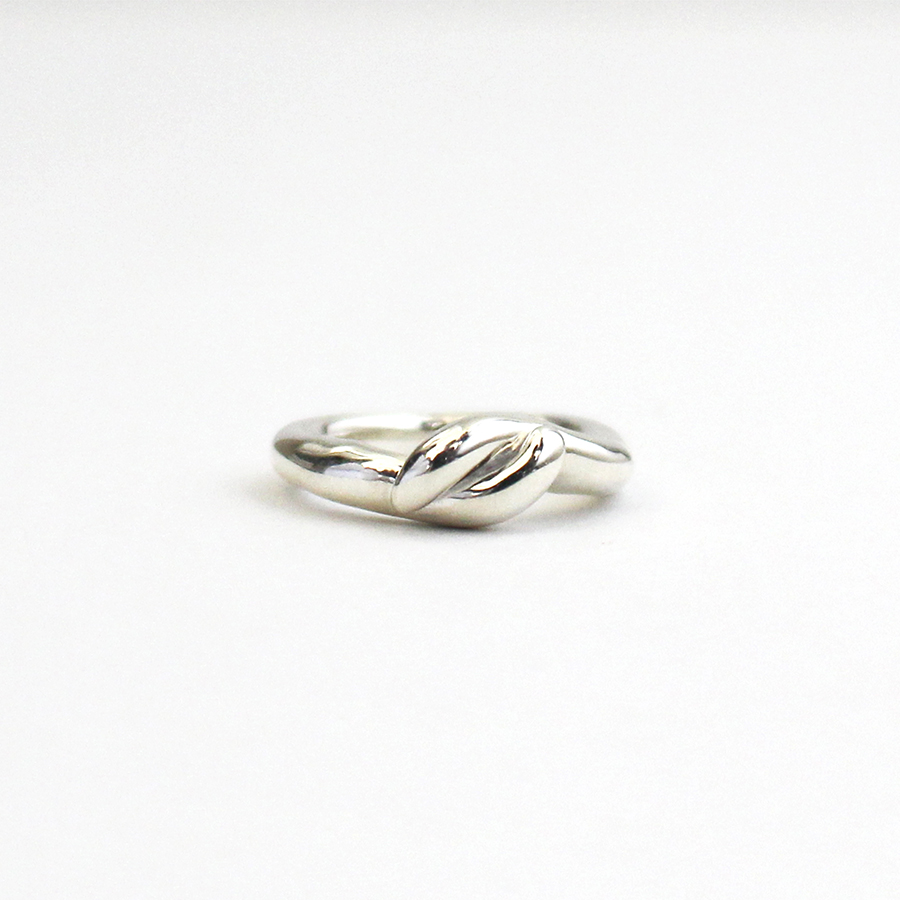 Mold pinky ring(knot) 詳細画像 Silver 1