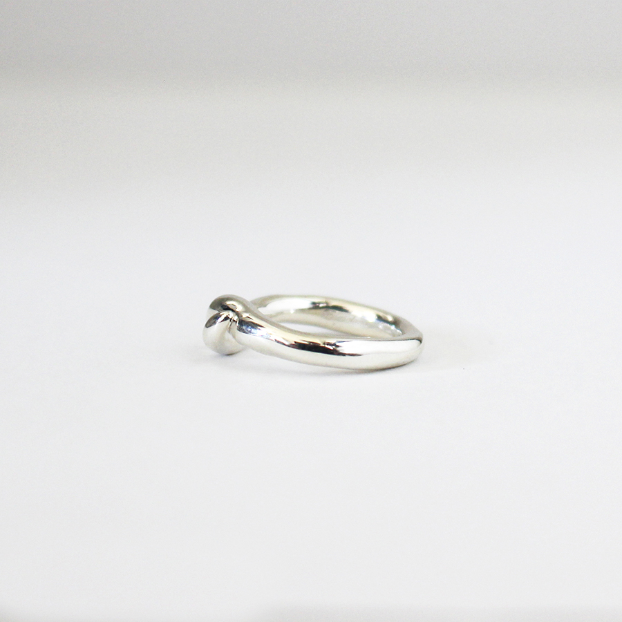 Mold pinky ring(knot) 詳細画像 Silver 2