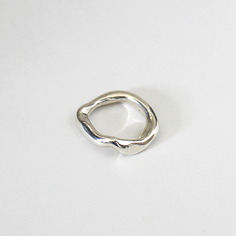 Mold pinky ring 詳細画像 Silver 1